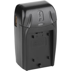 Watson Compact AC/DC Charger Kit with Battery Adapter Plate for NP-FC11 or NP-FC10