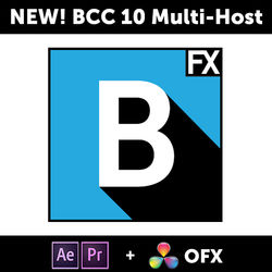 Boris FX Continuum Complete 10 Multi-Host for Adobe, Apple, and OFX (Download)