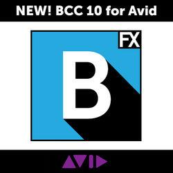 Boris FX Continuum Complete 10 for Avid (Download)