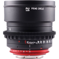 LOCKCIRCLE PrimeCircle XM Series Canon EF Mount 21mm f/2.8 Lens (Metric Markings)