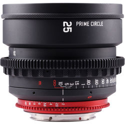 LOCKCIRCLE PrimeCircle XM Series Canon EF Mount 25mm f/2.0 Lens (Metric Markings)