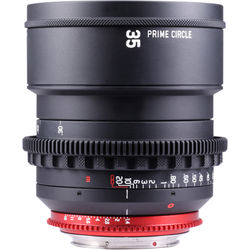 LOCKCIRCLE PrimeCircle XM Series Canon EF Mount 35mm f/1.4 Super-Speed Lens (Metric Markings)
