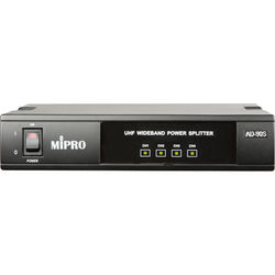 MIPRO AD-90S UHF 4-Channel Wideband Power Splitter for Four MI-909T/MI-808T/MT-92A Transmitters