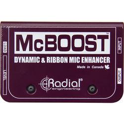 Radial Engineering McBoost Microphone Signal Intensifier