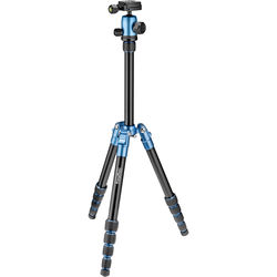 Prima Photo Small Travel Tripod (Blue)
