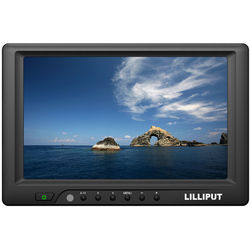 """LILLIPUT 669GL-70NP/C 7"""" Monitor with HDMI, DVI, VGA, and Composite Video Input"""
