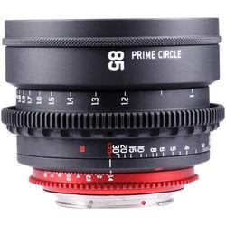 LOCKCIRCLE PrimeCircle XM Series 85mm f/1.4 Super Speed Lens (EF Mount, Metric Markings)