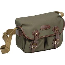 Billingham Hadley Shoulder Bag Small (Sage with Chocolate Leather Trim)