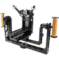 Letus35 Helix 4-Axis Magnesium Camera Stabilizer with Bluetooth-WiFi and RC Modules