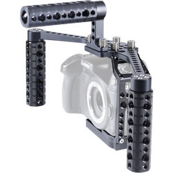 LOCKCIRCLE BirdCage GH4 BoomBooster Swivel Bundle with Top Handle for Panasonic GH4