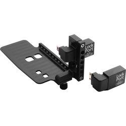 LOCKCIRCLE Lockport Dual Kit HDMI/USB 2.0 Port Saver Adapter Clamp for Canon 5D Mark II Camera