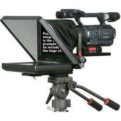 "Prompter People PRO-11HB ProLine 11"" High Bright Teleprompter Package"