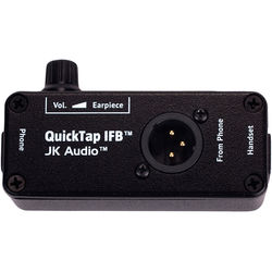 JK Audio QuickTap IFB Telephone Handset Tap