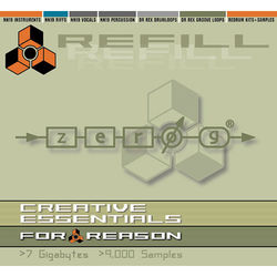 Zero-G Creative Essentials: Reason ReFill - Sample Library (Electronic Download)