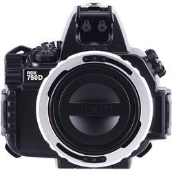 Sea & Sea RDX-750D Underwater Housing (Black) for Canon EOS REBEL T6i / 750D DSLR Camera