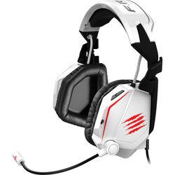 Mad Catz F.R.E.Q. Tournament Edition Stereo Gaming Headset (Gloss White)