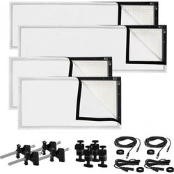 Westcott Peter Hurley Flex LED Mat 4-Light Kit