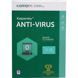 Kaspersky Anti-Virus 2016 (Boxed, 1 PC, 1-Year Protection)