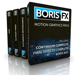 Boris FX Motion Graphics Pack for Adobe (Download)