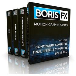 Boris FX Motion Graphics Pack for Avid (Download)