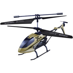 Swann Micro Lightning X-Squadron RC Helicopter (Golden Stealth)