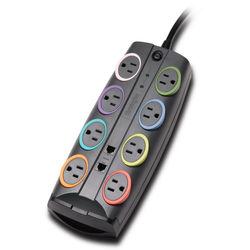 Kensington SmartSockets Standard 8-Outlet Surge Protector