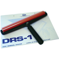 "Drytac Dust Removal System Roller for Rigid Substrates (12"", Red)"