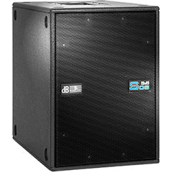 """dB Technologies DVA S08DP Active Bass-Reflex Subwoofer (12"""", 800W RMS)"""