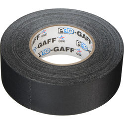 "ProTapes Pro Gaffer's Tape - 2.0"" x 55 Yards (Black)"