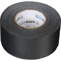 "ProTapes Pro Gaffer Tape (3"" x 55 yd, Black)"