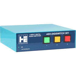 Henry Engineering AES DigiSwitch 3x1 Three-Input Digital Audio Switcher
