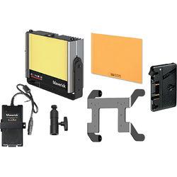 Cineo Lighting Maverick Bi-Color LED Light 150W Portable Gold Mount Kit