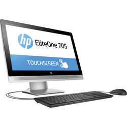 """HP P5U97UT EliteOne 705 G2 23"""" Touch All-in-One PC"""