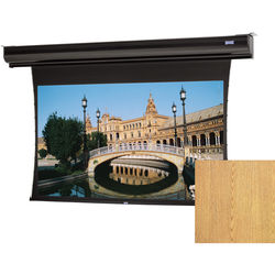 "Da-Lite 88493LSILOV Tensioned Contour Electrol 69 x 92"" Motorized Screen (120V)"