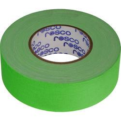 "Rosco GaffTac Gaffer Tape - Fluorescent Green (2"" x 165')"