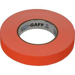"Visual Departures Gaffer Tape (Fluorescent Orange, 1"" x 50 Yards)"