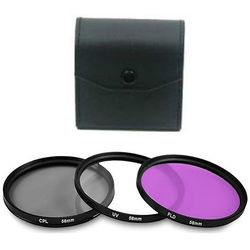 Bower 58mm Filter Kit