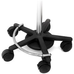 Ergotron Mobile Workstand Base and Casters (Black)