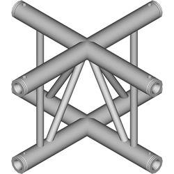 Global Truss 4-Way Vertical Cross-Junction for F32 I-Beam Truss System (1.64')