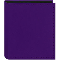 Pioneer Photo Albums Instant-Print Photo Album with Leatherette Covers - 40 Pockets (Purple)