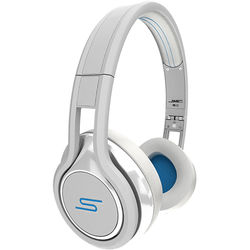 SMS Audio Street by 50 - On-Ear Wired Sport Headphones - Carmelo Anthony Edition (White)