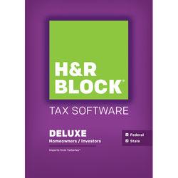 H&R Block 15 Deluxe + State (Download, Mac)