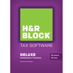H&R Block 15 Deluxe + State (Download, Windows)