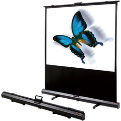"GrandView CB-UY070HWM4B Cyber Manual 34 x 61"" Pull-Up Screen"