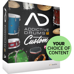 XLN Audio Addictive Drums 2: Custom - Addictive Drums 2 with Choice of Content (Download)