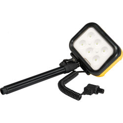 Pelican LED Lamp with Mast for 9430 Remote Area Lighting System (Yellow)