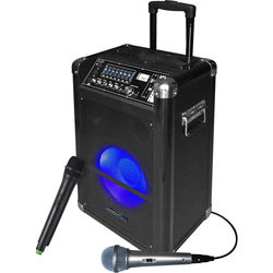 """Technical Pro 10"""" Portable Bluetooth PA System"""