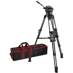 Acebil CS-XCM Tripod System with CH-X 150mm Ball Head, 2-Stage Carbon Fiber Tripod, & Mid-Level Spreader