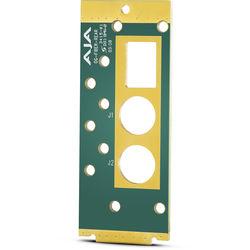 AJA openGear Rear Mounting Board for Fiber Modules
