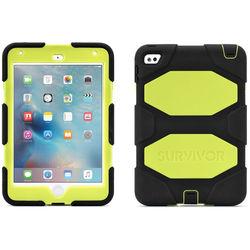 Griffin Technology Survivor All-Terrain Case for iPad mini 4 (Black/Citron)